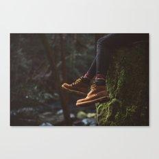 Footwork Canvas Print