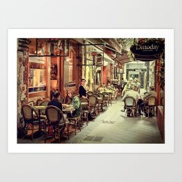 Memory Lane AE Art Print