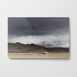 mongolian landscape Metal Print