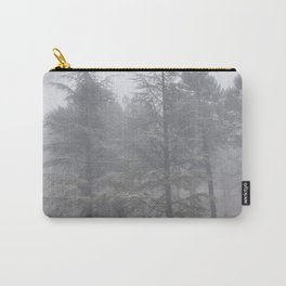 """Wander"". Into the foggy woods Carry-All Pouch"