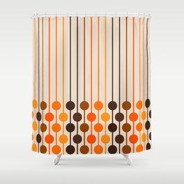 Golden Sixlet Shower Curtain