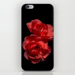 Blood Red Camelia iPhone Skin