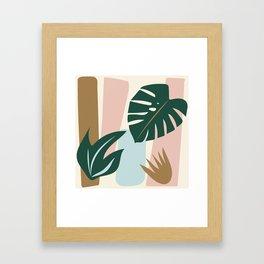 Jungle Palm Framed Art Print