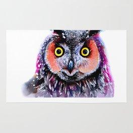 Long eared owl Rug
