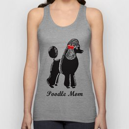 Poodle Mom Unisex Tank Top