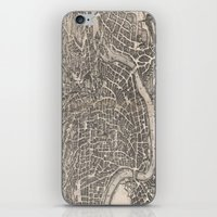 rome iPhone & iPod Skins featuring Rome  by Le petit Archiviste