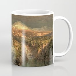 Passing Shower in the Tropics by Frederic Edwin Church Coffee Mug