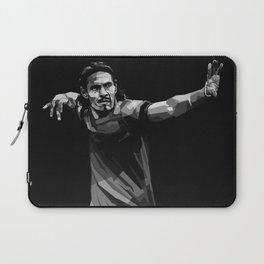 Edison Cavani on Black and White Color Laptop Sleeve