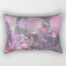 Pink flowers irises Rectangular Pillow