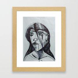 Line of Sight Framed Art Print