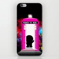 doraemon iPhone & iPod Skins featuring Dr. Mon by orangpalsu