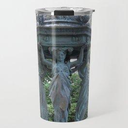 Drink from the Caryatids Travel Mug