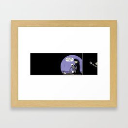 This Isn't What it Looks Like. Framed Art Print
