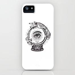 Gypsy Magic Ball iPhone Case