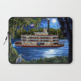 Mystcal Moonlight Cruise Down the Bayou Laptop Sleeve