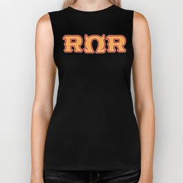 Monster University Fraternity : Roar Omega Roar Biker Tank