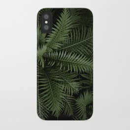 Tropical leaves 02 iPhone Case