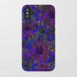 Cobalt Gazania iPhone Case