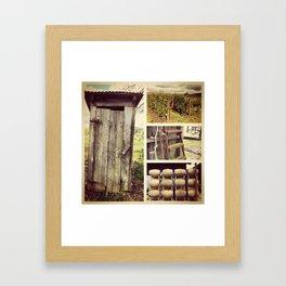 Outhouse Framed Art Print