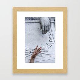 Cemetary5 Framed Art Print