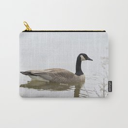 Canadian Goose Swimming Carry-All Pouch