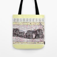 kansas Tote Bags featuring Kansas by Ursula Rodgers