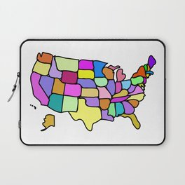 American States Clipart Drawing Laptop Sleeve