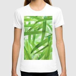 530 - Abstract Grass design T-shirt