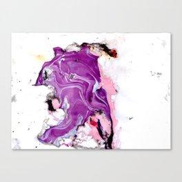 purple splurge Canvas Print