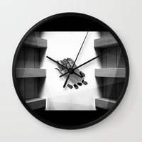 calendars Wall Clocks featuring Calendars for Analytics by mofart photomontages