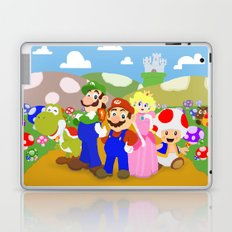Mario & friends Laptop & iPad Skin
