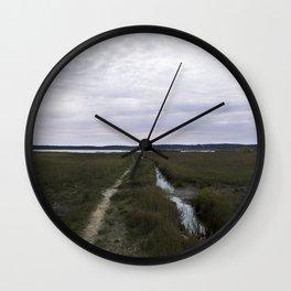 french marshland Wall Clock