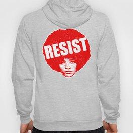 Angela Davis - Resist (red version) Hoody