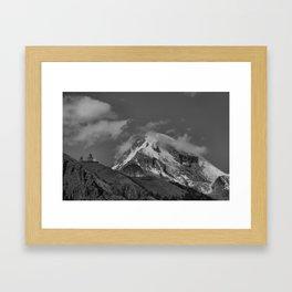 Mt. Kazbek Framed Art Print