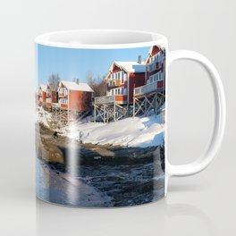 Sunny Norway #Snow #nature #landscape #photography Coffee Mug