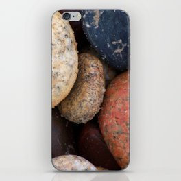 Lake Superior Beach Stones iPhone Skin