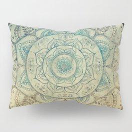 Faded Bohemian Mandala Pillow Sham