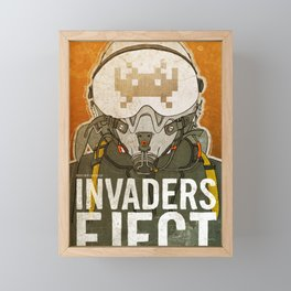 Invaders Eject Framed Mini Art Print
