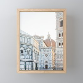 Il Duomo, Florence Italy Photography Framed Mini Art Print
