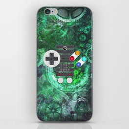 Classic Steampunk Game Controller iPhone Skin