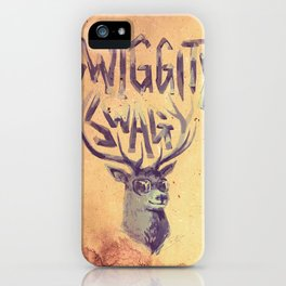 SWIGGITY SWAG I'M A STAG iPhone Case
