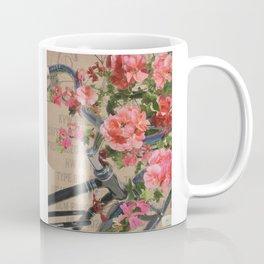 Schwinn Bicycle With Flowers Coffee Mug
