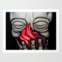 Vita Morte Art Print