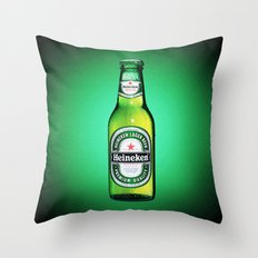 HEINEKEN for IPhone Throw Pillow