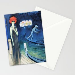The Quai, Venice by Kees Van Dongen Stationery Cards