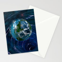 Earth Is In Trouble Stationery Cards
