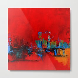 Red Inspiration Metal Print
