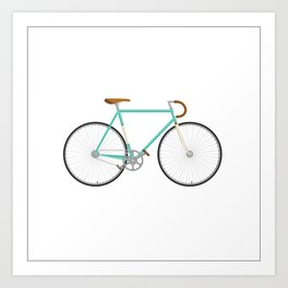 Single speedin' Art Print