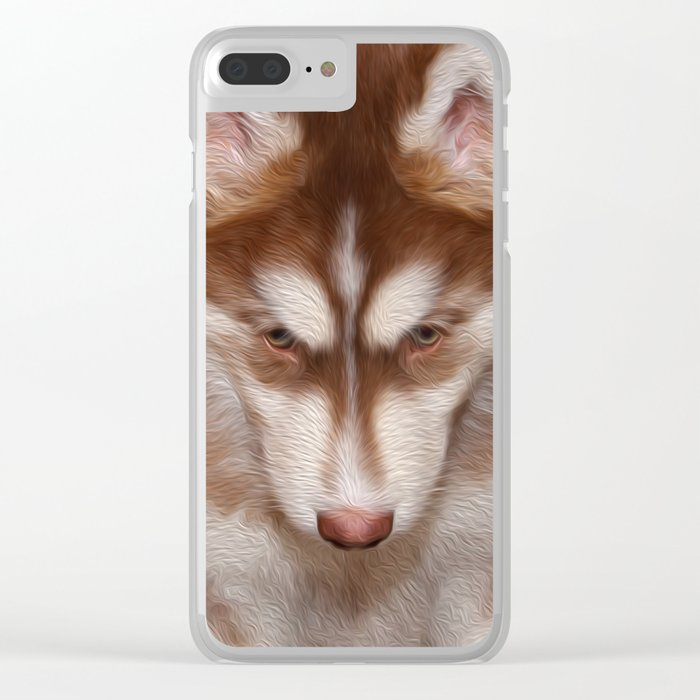 Puppy Dog Tails Clear iPhone Case