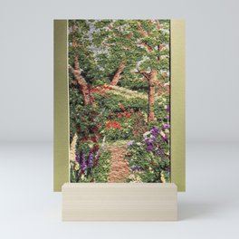 Garden path Mini Art Print